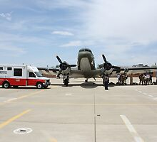 Red Cross and US Air Force by MarcusTx