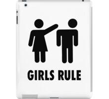 Girls Rule iPad Case/Skin