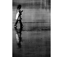 childhood reflected Photographic Print