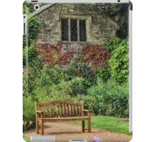 Garden Bench iPad Case/Skin