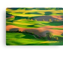 Palouse Patchwork Metal Print