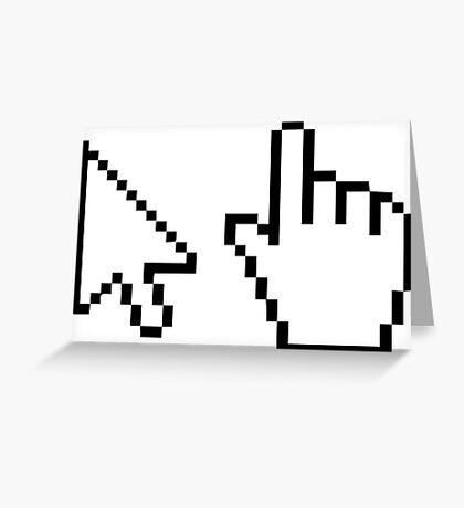 Select Pixels Greeting Card