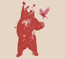 Bear & Bird by jackfords