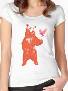 Bear & Bird Women's Fitted Scoop T-Shirt