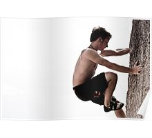 bouldering on koh tao Poster