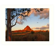 Cloncurry Pyramid - Queensland Art Print