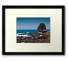 Pillar  of  Rock Framed Print