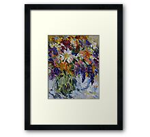 Flowers to Market  Framed Print