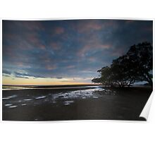 Nudgee Beach Poster