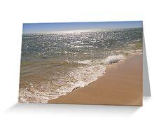 Sparkling Sea - Ningaloo Reef, Western Australia Greeting Card