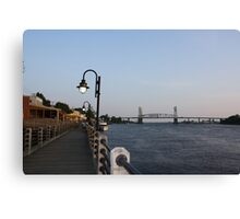 Wilmington Dusk Canvas Print
