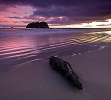 Charred purple dawn by Ken Wright