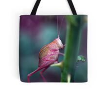 Resting on a Rose Thorn Tote Bag
