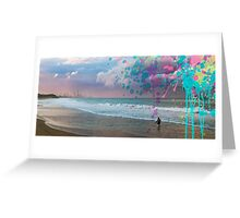 Storm Surfer Greeting Card