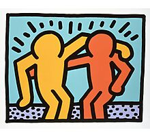 keith haring two Photographic Print