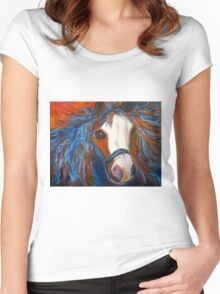 Welsh Pony Women's Fitted Scoop T-Shirt