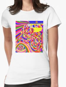 Time Machine Womens Fitted T-Shirt