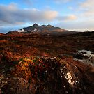 Sligachan Sunset by Christopher Thomson