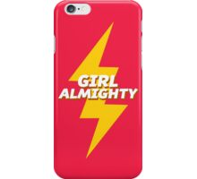girl almighty - red iPhone Case/Skin