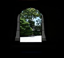 Bell Window, Kennin-ji by Skye Hohmann