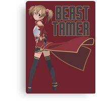 Beast Tamer: Silica Canvas Print