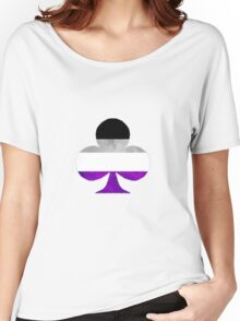 Ace Of Clubs Women's Relaxed Fit T-Shirt