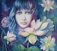 Lotus flower by Elena Oleniuc