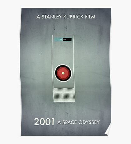 2001 - Hal 9000 Poster