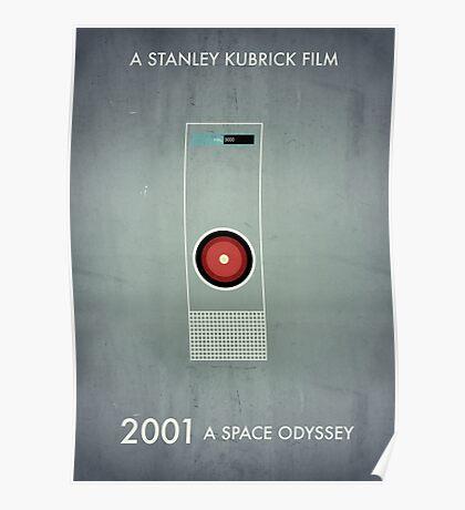 2001 - Hal 9000 Poster