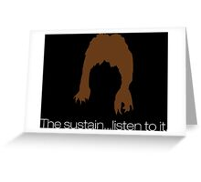 The Sustain Greeting Card