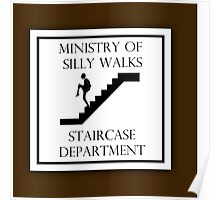Silly Staircase Poster