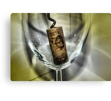 Cork It Metal Print