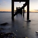 Aberdour Pier by Claire Tennant