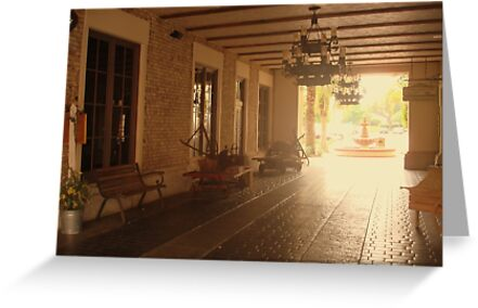 Spanish courtyard by Yajhayra Maria