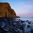 Aberdour Cliffs by Claire Tennant