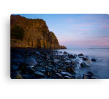 Aberdour Cliffs Canvas Print
