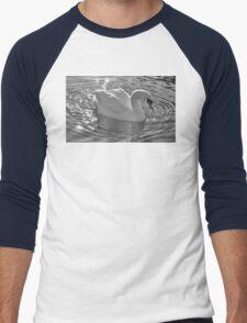 Swan Men's Baseball ¾ T-Shirt