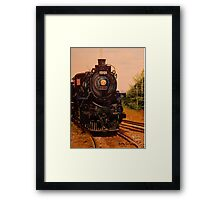 Evening CP Engine 1201 Framed Print