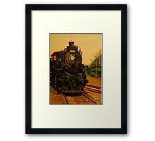 Morning CP Engine 1201 Framed Print