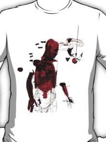 love and gravity - black and red version T-Shirt