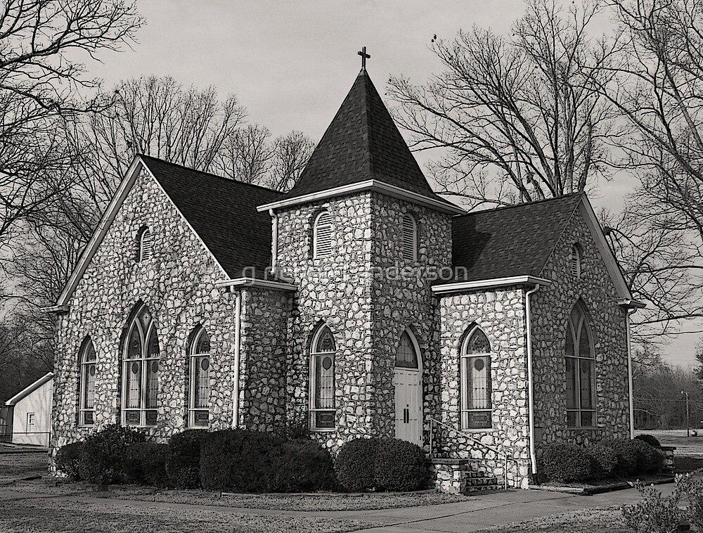 Indian Trail Church by g richard anderson