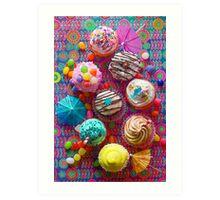 Cupcake du Jour Art Print