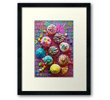 Cupcake du Jour Framed Print