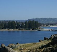 Victor Harbor view from Granite Island by BronReid