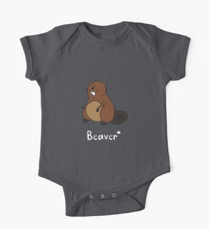 B for Beaver One Piece - Short Sleeve