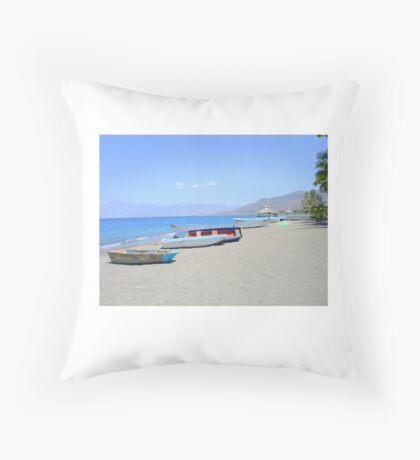 Palmar De Ocoa, Dominican Republic  Throw Pillow
