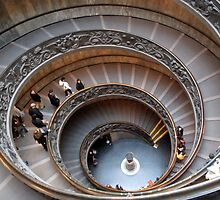 spiral ramp inside the vatican by marianne troia