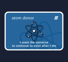 atom donor card [Big] T-Shirt