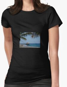 Paradise Escape Womens Fitted T-Shirt