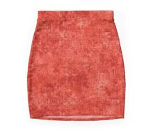 Fiesta Oil Painting Color Accent Pencil Skirt